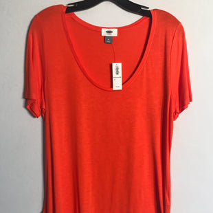 Primary Photo - BRAND: OLD NAVY STYLE: TOP SHORT SLEEVE BASIC COLOR: ORANGE SIZE: M SKU: 313-31344-9970