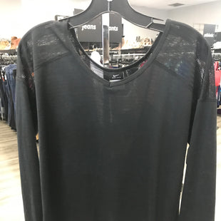 Primary Photo - BRAND: NIKE STYLE: ATHLETIC TOP COLOR: BLACK SIZE: S SKU: 313-31328-33028