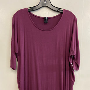Primary Photo - BRAND: AGNES & DORA STYLE: TOP SHORT SLEEVE COLOR: PURPLE SIZE: S SKU: 313-31328-34992