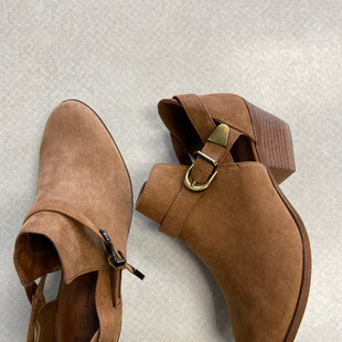 Primary Photo - BRAND: TIME AND TRU STYLE: BOOTS ANKLE COLOR: BROWN SIZE: 8.5 SKU: 313-31349-3716