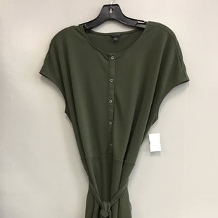 Primary Photo - BRAND: ANN TAYLOR STYLE: TOP SHORT SLEEVE COLOR: GREEN SIZE: L SKU: 313-31328-35829
