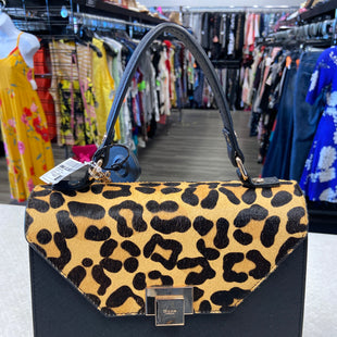Primary Photo - BRAND:    CLOTHES MENTOR STYLE: HANDBAG COLOR: ANIMAL PRINT SIZE: MEDIUM OTHER INFO: DUNE LONDON - SKU: 313-31344-19836