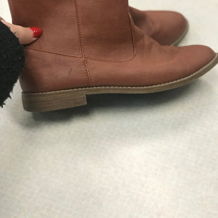 Primary Photo - BRAND:    CLOTHES MENTOR STYLE: BOOTS ANKLE COLOR: RUST SIZE: 9 SKU: 313-31332-9569