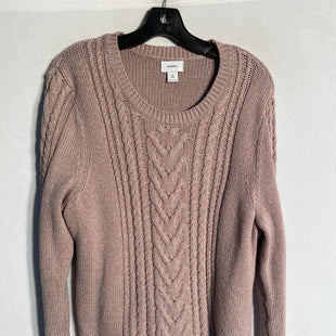 Primary Photo - BRAND: OLD NAVY STYLE: SWEATER HEAVYWEIGHT COLOR: PINK SIZE: 2X SKU: 313-31311-24448