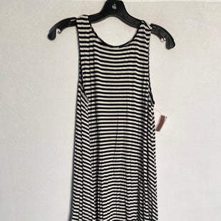 Primary Photo - BRAND: OLD NAVY STYLE: DRESS SHORT SLEEVELESS COLOR: BLACK WHITE SIZE: M SKU: 313-31332-10009