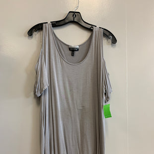 Primary Photo - BRAND: ALLISON BRITTNEY STYLE: TOP SHORT SLEEVE COLOR: GREY SIZE: L SKU: 313-31332-6895