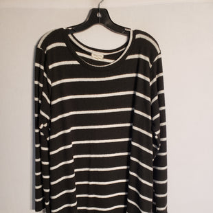 Primary Photo - BRAND:    CLOTHES MENTOR STYLE: DRESS SHORT LONG SLEEVE COLOR: STRIPED SIZE: 1X OTHER INFO: SWEET LOVELY - SKU: 313-31344-8849