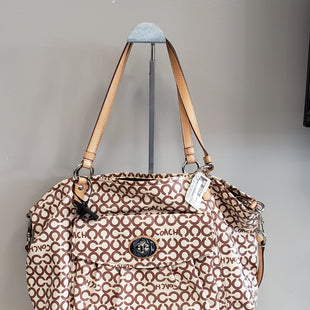 Primary Photo - BRAND: COACH STYLE: HANDBAG DESIGNER COLOR: BROWN SIZE: LARGE SKU: 313-31344-13203