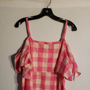 Primary Photo - BRAND: BOBEAU STYLE: TOP SHORT SLEEVE COLOR: PINK SIZE: XL SKU: 313-31328-26887