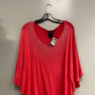 Primary Photo - BRAND:    CLOTHES MENTOR STYLE: TOP SHORT SLEEVE COLOR: PINK SIZE: M OTHER INFO: ESPERANZA - SKU: 313-31328-34390