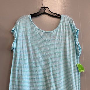 Primary Photo - BRAND: BANANA REPUBLIC O STYLE: TOP SHORT SLEEVE COLOR: BABY BLUE SIZE: XS SKU: 313-31328-33715