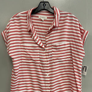 Primary Photo - BRAND: BEACHLUNCHLOUNGE STYLE: TOP SHORT SLEEVE COLOR: STRIPED SIZE: M SKU: 313-31344-13761
