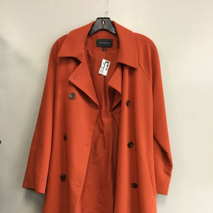 Primary Photo - BRAND: ANN TAYLOR STYLE: COAT LONG COLOR: ORANGE SIZE: L SKU: 313-31344-18640