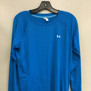 Primary Photo - BRAND: UNDER ARMOUR STYLE: ATHLETIC TOP COLOR: BLUE SIZE: L SKU: 313-31349-1640