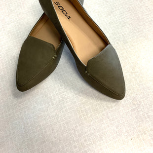 Primary Photo - BRAND: SODA STYLE: SHOES FLATS COLOR: GREEN SIZE: 8 SKU: 313-31332-10466