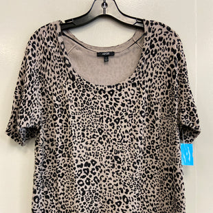 Primary Photo - BRAND: APT 9 STYLE: TOP SHORT SLEEVE COLOR: ANIMAL PRINT SIZE: XL SKU: 313-31311-30752