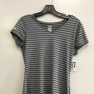 Primary Photo - BRAND: DANSKIN NOW STYLE: ATHLETIC TOP SHORT SLEEVE COLOR: STRIPED SIZE: M SKU: 313-31311-27527