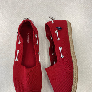 Primary Photo - BRAND: NAUTICA STYLE: SHOES FLATS COLOR: RED SIZE: 9 SKU: 313-31352-1263