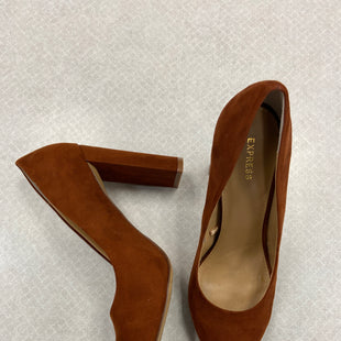Primary Photo - BRAND: EXPRESS STYLE: SHOES LOW HEEL COLOR: ORANGE SIZE: 8 SKU: 313-31311-30211