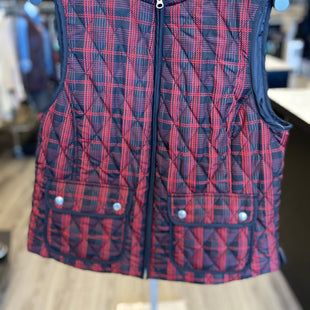 Primary Photo - BRAND: CROFT AND BARROW STYLE: VEST DOWN COLOR: RED BLACK SIZE: M SKU: 313-31344-18973