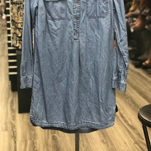 Primary Photo - BRAND: OLD NAVY STYLE: DRESS SHORT LONG SLEEVE COLOR: BLUE SIZE: S SKU: 313-31349-2306