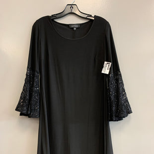 Primary Photo - BRAND: R AND M RICHARDS STYLE: DRESS SHORT LONG SLEEVE COLOR: BLACK SIZE: S SKU: 313-31344-20615