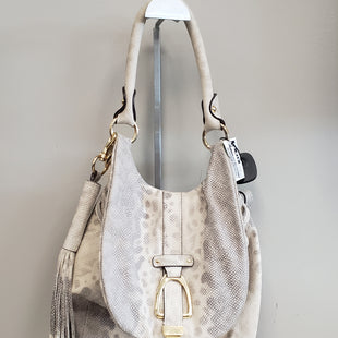 Primary Photo - BRAND:    CLOTHES MENTOR STYLE: BACKPACK COLOR: SNAKESKIN PRINT SIZE: MEDIUM OTHER INFO: CM - SKU: 313-31349-562