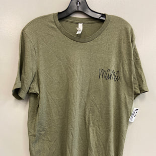 Primary Photo - BRAND: BELLA + CANVAS STYLE: TOP SHORT SLEEVE COLOR: GREEN SIZE: L SKU: 313-31349-5041