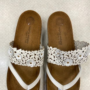 Primary Photo - BRAND:    CLOTHES MENTOR STYLE: SANDALS HIGH COLOR: WHITE SIZE: 9 OTHER INFO: SOPHIE MILANO - SKU: 313-31349-4898