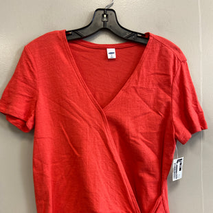 Primary Photo - BRAND: OLD NAVY STYLE: TOP SHORT SLEEVE COLOR: ORANGE SIZE: M SKU: 313-31349-4408