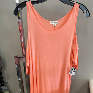 Primary Photo - BRAND: ZENANA OUTFITTERS STYLE: TOP SHORT SLEEVE COLOR: PEACH SIZE: L SKU: 313-31349-1368