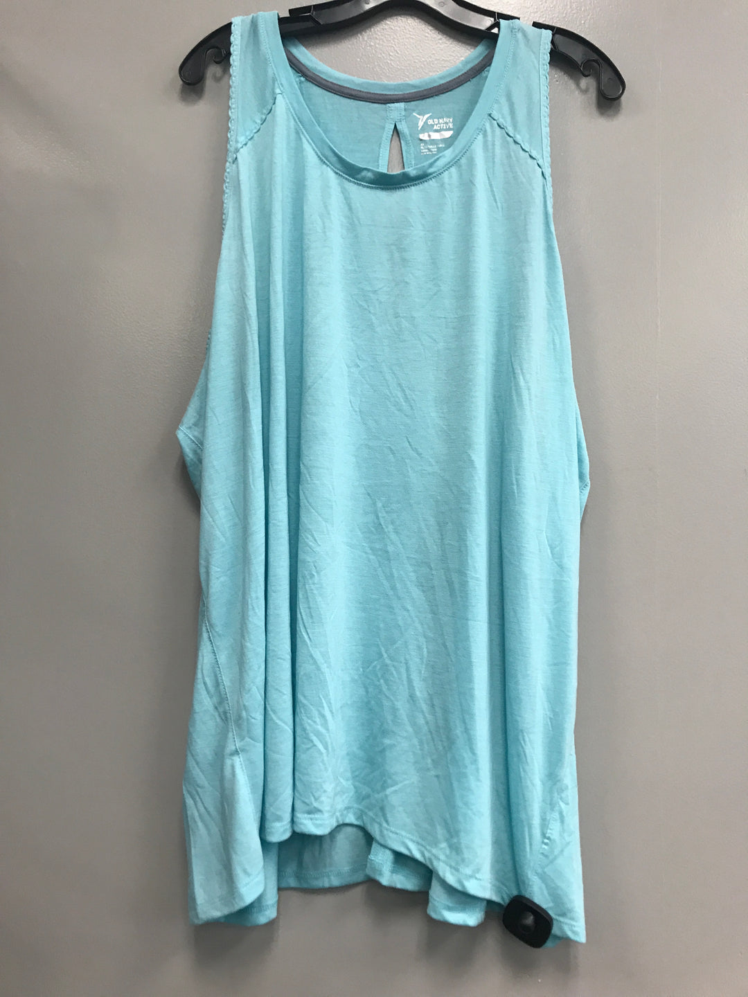 Primary Photo - BRAND: OLD NAVY <BR>STYLE: ATHLETIC TANK TOP <BR>COLOR: LIGHT BLUE <BR>SIZE: 4X <BR>SKU: 313-31344-18018
