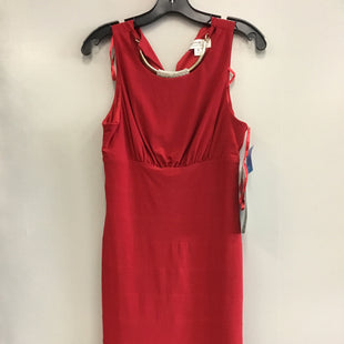 Primary Photo - BRAND:    CLOTHES MENTOR STYLE: DRESS SHORT SLEEVELESS COLOR: RED SIZE: M OTHER INFO: JACKIE JON - SKU: 313-31349-3183