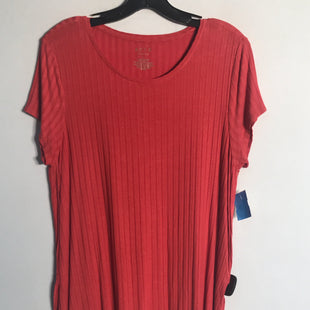 Primary Photo - BRAND: APT 9 STYLE: TOP SHORT SLEEVE COLOR: CORAL SIZE: L SKU: 313-31311-24020