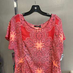 Primary Photo - BRAND: ANA STYLE: TOP SHORT SLEEVE COLOR: PAISLEY SIZE: L SKU: 313-31311-29160