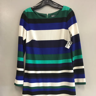 Primary Photo - BRAND: VINCE CAMUTO STYLE: DRESS SHORT LONG SLEEVE COLOR: STRIPED SIZE: M SKU: 313-31332-8850