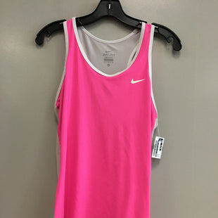 Primary Photo - BRAND: NIKE STYLE: ATHLETIC TANK TOP COLOR: PINK SIZE: M SKU: 313-31349-1343
