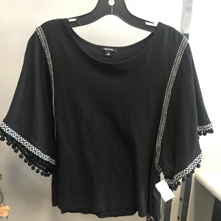 Primary Photo - BRAND: ANA STYLE: TOP SHORT SLEEVE COLOR: BLACK SIZE: L SKU: 313-31328-36931