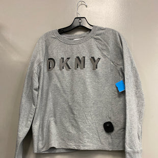 Primary Photo - BRAND: DKNY STYLE: ATHLETIC TOP COLOR: GREY SIZE: L SKU: 313-31344-20211