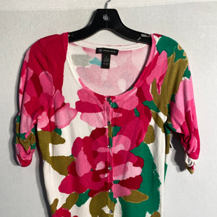 Primary Photo - BRAND: INCSTYLE: SWEATER CARDIGAN LIGHTWEIGHTCOLOR: FLORALSIZE: MSKU: 313-31328-29767