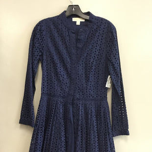 Primary Photo - BRAND: MICHAEL BY MICHAEL KORS STYLE: DRESS SHORT LONG SLEEVE COLOR: NAVY SIZE: XS SKU: 313-31332-9371