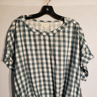 Primary Photo - BRAND:    CLOTHES MENTOR STYLE: TOP SHORT SLEEVE COLOR: PLAID SIZE: XL OTHER INFO: MELLO DAY - SKU: 313-31344-5000