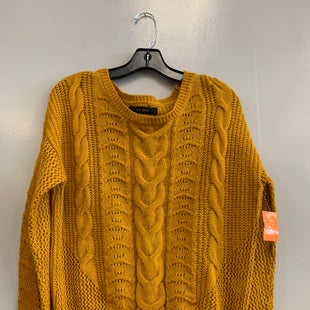 Primary Photo - BRAND: LOVE TREE STYLE: SWEATER LIGHTWEIGHT COLOR: MUSTARD SIZE: M SKU: 313-31354-133