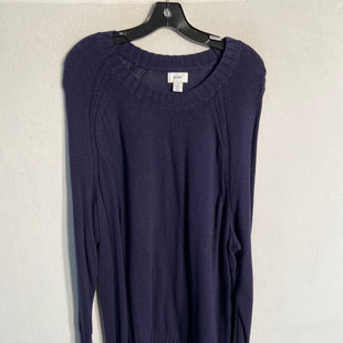 Primary Photo - BRAND: OLD NAVY STYLE: SWEATER LIGHTWEIGHT COLOR: NAVY SIZE: 2X SKU: 313-31344-9006