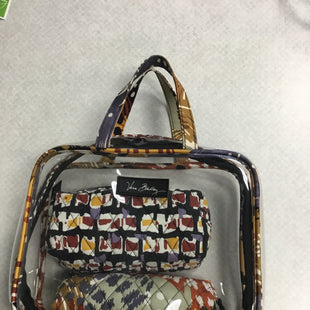 Primary Photo - BRAND: VERA BRADLEY STYLE: MAKEUP BAG COLOR: CLEAR SIZE: 03 PIECE SKU: 313-31344-21160