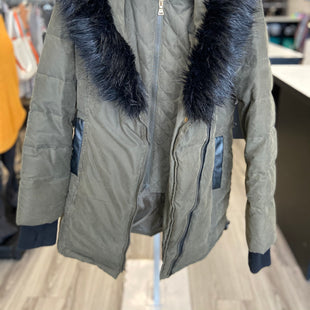 Primary Photo - BRAND: EXPRESS STYLE: COAT SHORT COLOR: GREEN SIZE: XS SKU: 313-31332-9044