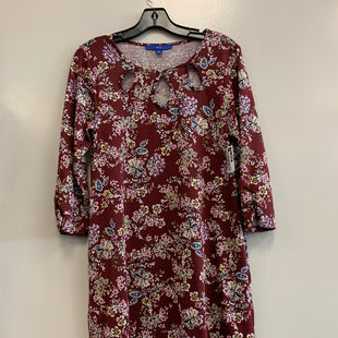 Primary Photo - BRAND: APT 9 STYLE: DRESS SHORT LONG SLEEVE COLOR: FLORAL SIZE: S SKU: 313-31344-20439