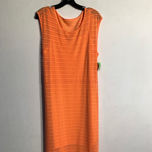 Primary Photo - BRAND: APT 9STYLE: DRESS LONG SLEEVELESSCOLOR: ORANGESIZE: XLSKU: 313-31344-2188