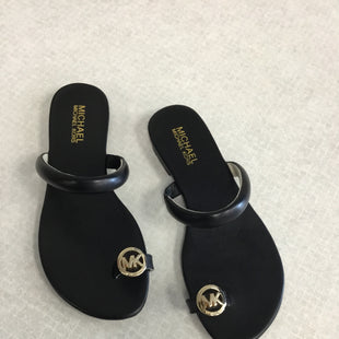 Primary Photo - BRAND: MICHAEL KORS STYLE: SANDALS FLAT COLOR: BLACK SIZE: 7 SKU: 313-31311-31162
