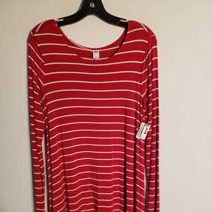 Primary Photo - BRAND: OLD NAVY STYLE: DRESS SHORT LONG SLEEVE COLOR: PINK SIZE: M SKU: 313-31328-30887